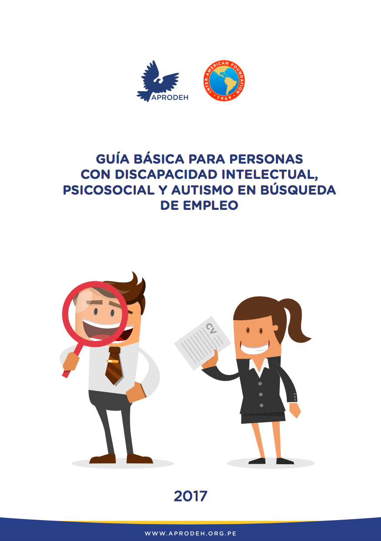 Guía básica para personas con discapacidad intelectual, psicosocial y autismo en búsqueda de empleo