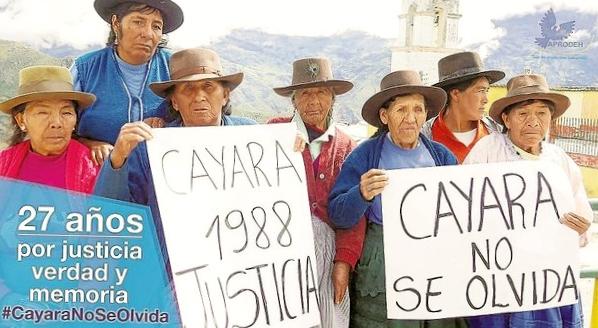 Caso Cayara – Ayacucho