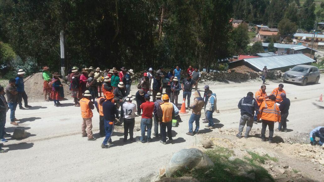 ¡Alerta! Derrame de sustancia química en la Comunidad de Yuricancha del Distrito de Mara,  Apurímac c