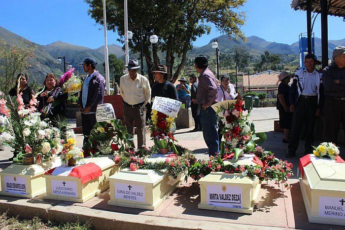 Abancay: Se entregaron restos de víctimas de Sendero Luminoso