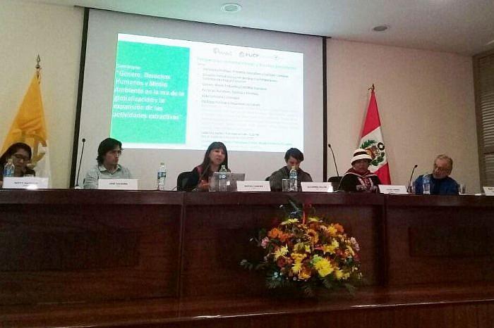 APRODEH participó en conversatorio Voces y propuestas: Género, Ambiente y Derechos Humanos