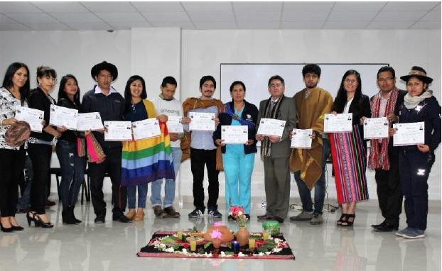 """APRODEH clausura en Apurimac """"Diplomado en Derechos Humanos y Ambiente"""""""
