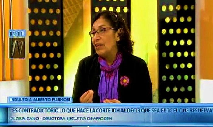 Gloria Cano: Corte IDH es contradictoria al pedir al TC analizar el indulto (Canal N)