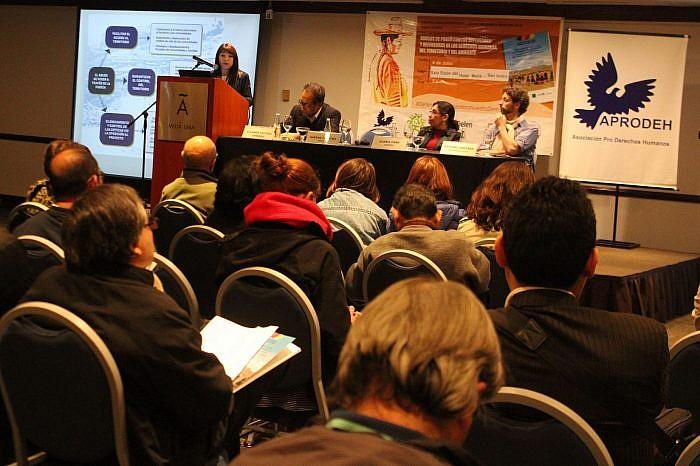 APRODEH presenta Informe sobre extractivismo, abusos de poder contra defensoras y defensores y derechos en la región andina