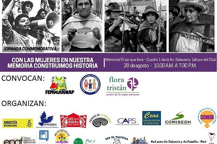 Organizaciones de Derechos Humanos convocan a jornada conmemorativa por los 15 años de la entrega del Informe Final de la CVR
