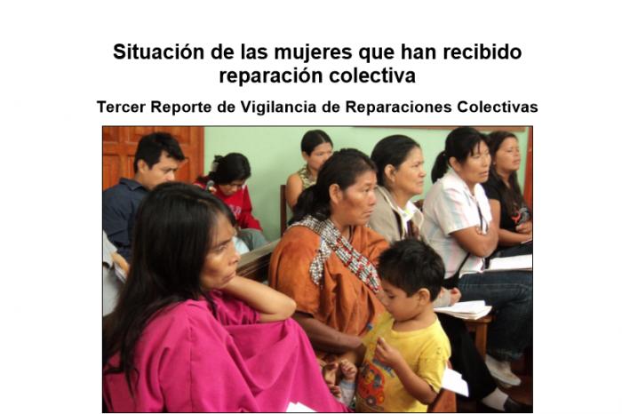"""Reportes sobre la implementación del """"Plan Integral de Reparaciones"""""""