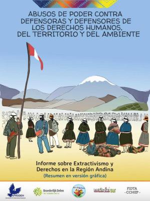 Informe sobre abusos de poder contra Defensoras y Defensores de DD.HH. , Terroritorio y Ambiente.
