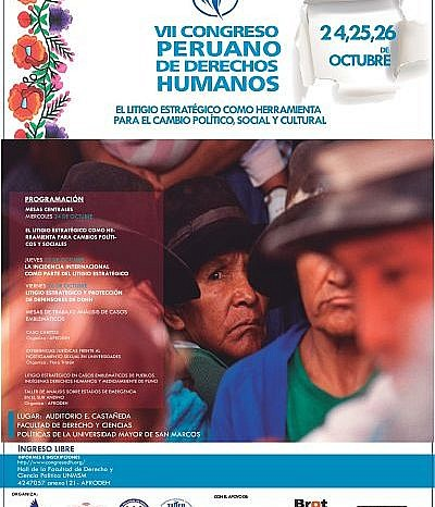 VII Congreso Peruano de Derechos Humanos 2018