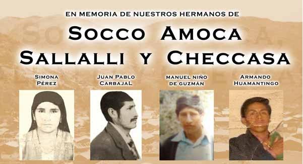 Apurimac: Sala Penal Nacional realizará audiencias contra exmilitares