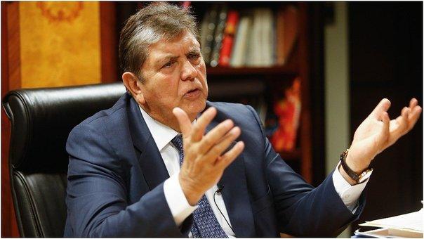 Coordinadora Nacional de Derechos Humanos exhorta no otorgar el asilo político a expresidente Alan García