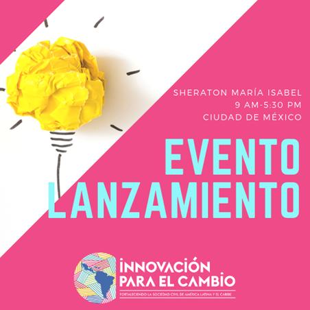 Organizaciones internacionales participan en la Conferencia para el lanzamiento de hub de Innovación para el cambio de América Latina y el Caribe (ALC)