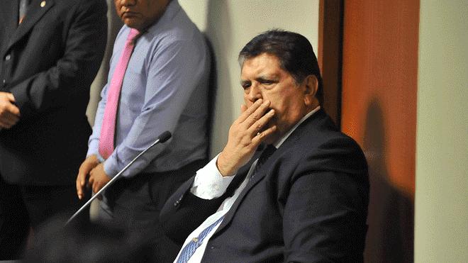 Uruguay niega el pedido de asilo diplomático a Alan García