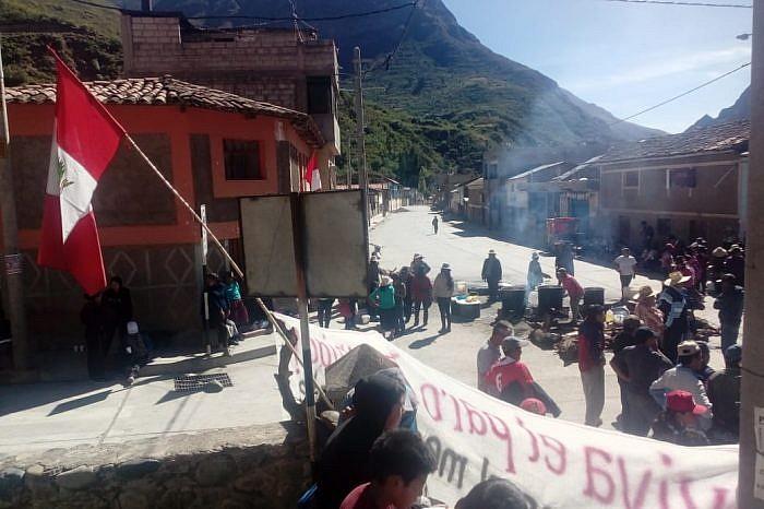 Paro indefinido por contaminación en la provincia de Grau - Apurímac: Demandan cierre definitivo de planta procesadora Santa María Perú SAC - USAYMA