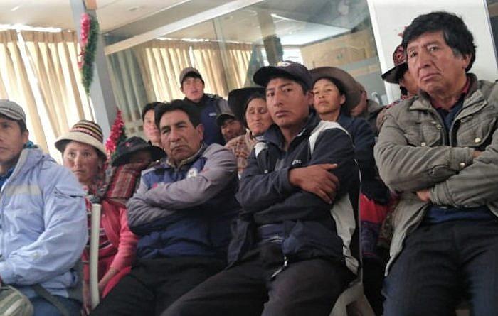 Por cuarta vez postergan inicio de juicio oral de diecinueve pobladores procesados por conflicto Las Bambas